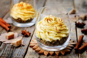 Pumpkin Spice No-Bake Cheesecake